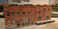 HO Scale Walthers Building Arrowhead Brewery Background Built & Weathered