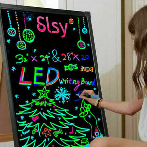 Sensory Play Memo Board LED Writing Board Light Up Flashing Message Erasable Toy