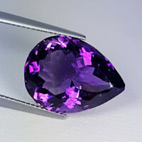Pear-Cut Large Natural Purple Amethyst 11.66ct