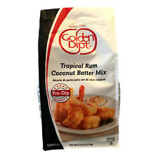 Golden Dipt Tropical Rum Coconut Batter Coating - 5 lb Bag
