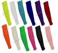 Women's Ladies Leg Warmers Neon 1980s Plain Colours Tutu Leg Warmers 15 Colours