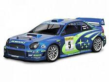 HPI SUBARU IMPREZA WRC 2001 BODY (200MM) Unpainted Body NEW HPI-7458