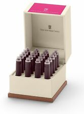 Graf von Faber Castell Tintenpatronen 20er Electric Pink