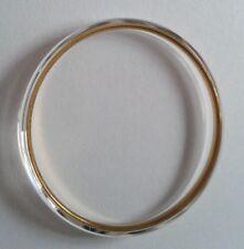 Reloj de cristal reemplaza Seiko 300T44ANG0 se adapta a 8222-7000 Anillo De Oro