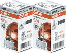 2x D1S bulb 35W ballast Xenon Osram HDI Headlights 66140 OEM lamp replacement