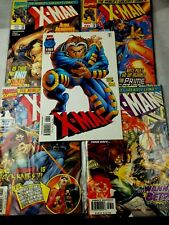 X-MAN lot of five~ 1997 marvel comics  near mint  condition #s 26-29-30-32 -33