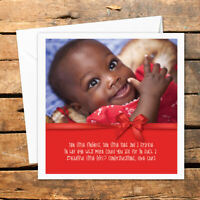 Personalised Congratulations Baby Shower Photo Card New Baby Born Boy Girl Cute