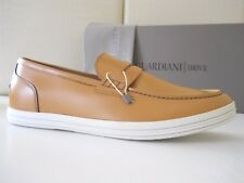 Scarpe uomo Alberto Guardiani mocassini Drive Pelle giallo 45 Made in Italy €160