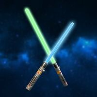 Laser Sword Double Light Saber Star War LED Lightsaber with and Sound Effect