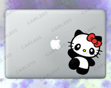 Hello Kitty Panda (A) Color Vinyl Sticker for Macbook Air/Pro
