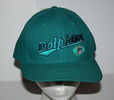 90s Twins Enterprises NFL Miami Dolphins Football Cap Hat Snapback New NOS OSFA