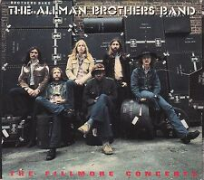 THE ALLMAN BROTHERS BAND - the fillmore concerts CD