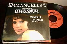 """SYLVIA KRISTEL - SPANISH 7"""" SINGLE SPAIN EMMANUELLE 2 - EROTIC"""