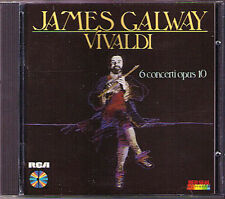 Sir James GALWAY: VIVALDI 6 Flute Concerto Op.10 RCA CD 1985 Flötenkonzerte