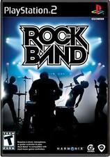 PS2 Original ROCK BAND 1 Video GAME ONLY Sony Playstation-2 COMPLETE music disc