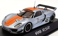 Minichamps 1/43 Scale Model Car 0201910C - Porsche 918 RSR - Silver