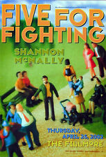 Five For Fighting POSTER Shannon McNally Fillmore F518 Frank Wiedemann
