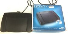 More details for used infinity usb foot control in-usb-2 foot pedal - untested -  boxed