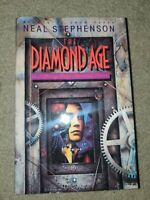Neal Stephenson ~The Diamond Age~ 1st edition hardcover Science Fiction Cyber