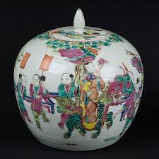 Cina 19. JH. vascolari-a Chinese Famille Rose Jar-chinois cinese-Tongzhi Qing