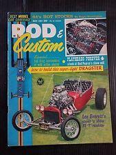 Rod & Custom May 1964  Lee Everett 1923 Roadster - 1956 Ford Pickup - Model Cars