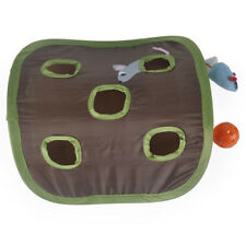 New listing 9 Holes Mouse Hunt Pet Cat Mice Toy Hide Seek Game Pops-up Collapsible We