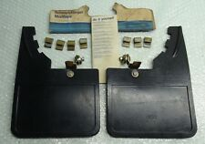MK2 ESCORT RS2000 MEXICO GHIA ESTATE GENUINE FORD NOS FRONT MUD FLAP SET - 2