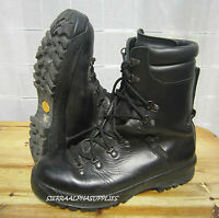 BRITISH ARMY SURPLUS BLACK ECW LEATHER & GORE TEX LINED  HI LEG COMBAT BOOTS