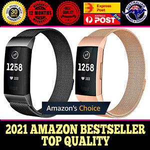 For Fitbit Charge 3 4 Replacement Wristband Watch Band Strap Bracelet Milanese