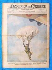 La Domenica del Corriere 13 febbraio 1921 Blanguier - San Francisco - L.da Vinci