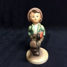 """Vintage M.I. Hummel figurine entitled """"Happy Traveler"""" ; #109; ( A )"""