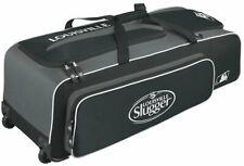 New Louisville WTL9502 Series 5 Rig Wheeled Players Bag Black/White 37x12.5x12