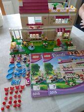Lego Friends 3315 Beige Olivias House Complete Lot Bundle