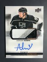 2017-18 Upper Deck Premier Adrian Kempe Acetate Rookie Auto Patch /299