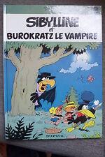 BD sibylline n°8 burokratz le vampire EO 1982 TBE macherot