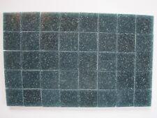 "Loose 3/4"" (2 cms) square Glass Mosaic Tiles - 40 pieces - ""Basalt"""