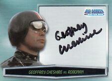 Strictly Ink Doctor Who Big Screen Trading Card Autographed Card AU7 Roboman
