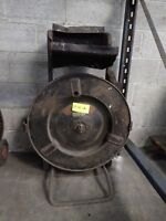Used Mobile Strapping Dispenser Signode Model DF-10-A