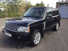 Four Wheel Drive Diesel Range Rover Cars