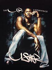 Usher The UR Experience 2014 Tour Black Small 2-sided T-Shirt #urxtour