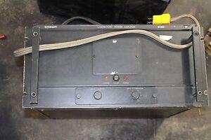 CROWN LAB AUDIO POWER AMPLIFIER M-600