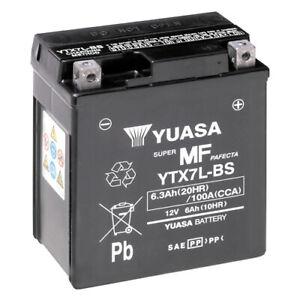 Batterie Honda CBF 600 S PC38A Bj. 2004 YUASA YTX7L-BS AGM geschlossen