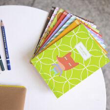 Lot 4pcs Korean Stationery Animal Notepad Cute Kawaii Memo Pad Sticky Notes US