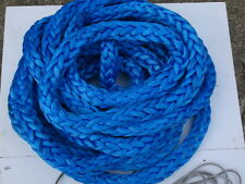 "41' of 1"" Amsteel-Blue Dyneema SK-78 Made in USA by Samson Rope 98,100lb"