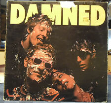 The DAMNED First LP Blue VG+ Vinyl Belgium in G+ Jacket Extremely Rare!