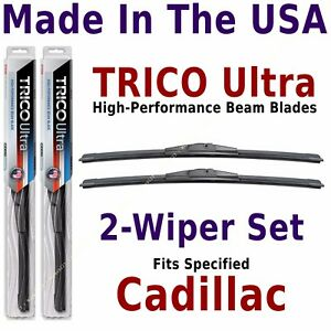 Buy American: TRICO Ultra 2-Wiper Blade Set: fits listed Cadillac: 13-18-18