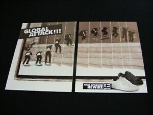 GLOBE magazine clippings print ad for Shoes