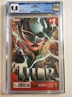 Thor #1 A Jane Foster Becomes Thor 1st Print 2014 CGC 9.8 White Pages