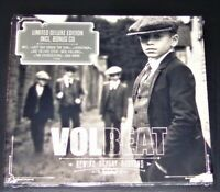 Volbeat Rebobiner, Replay, Rebound Limitée Deluxe Digipak Edition Double CD Neuf