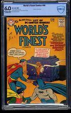 World's Finest Comics #88 CBCS FN 6.0 Off White to White